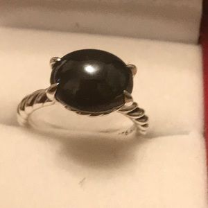 Authentic David Yurman Hematite Ring